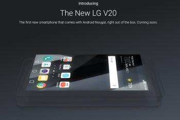 גוגל מספקת הצצה ראשונה ל-LG V20: יגיע עם מסך משני ושוליים מצומצמים