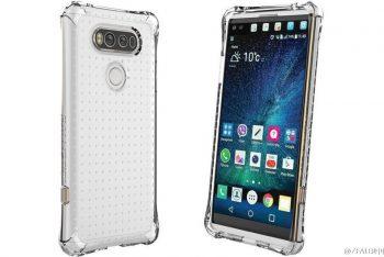 LG V20 נחשף בתמונות הדמיה ראשונות עם 4 מצלמות, מסך משני ומבנה מודולרי