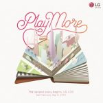 הזמנה לאירוע הכרזה של LG V20
