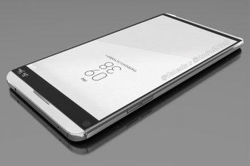 תמונות ראשונות חושפות את עיצובו של סמארטפון ה-LG V20