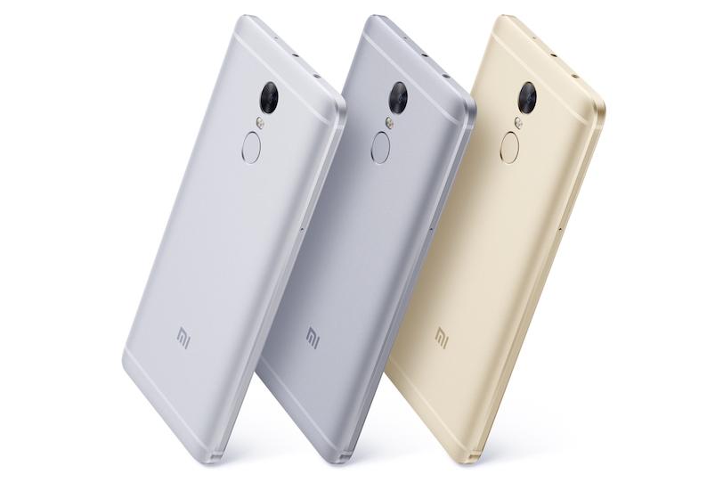 Xiaomi Redmi Note 4 בצבעים כסוף, אפור כהה וזהב