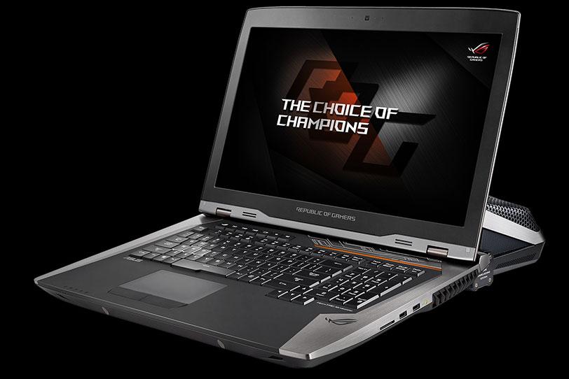 מחשב נייד ASUS ROG GX800 (תמונה: ASUS)