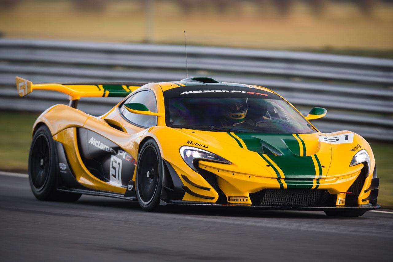 דגם P1 GT (קרדיט תמונה: McLaren)