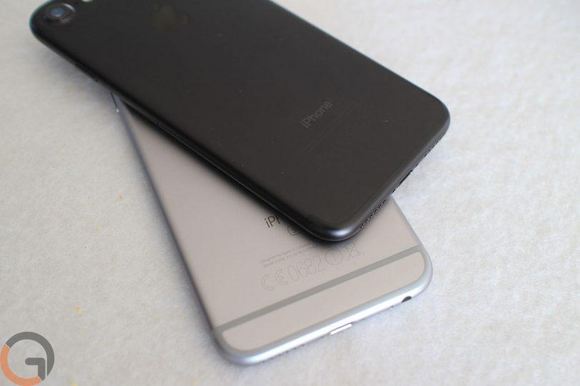 אייפון 7 בשחור מול אייפון 6S (צילום: גאדג'טי)