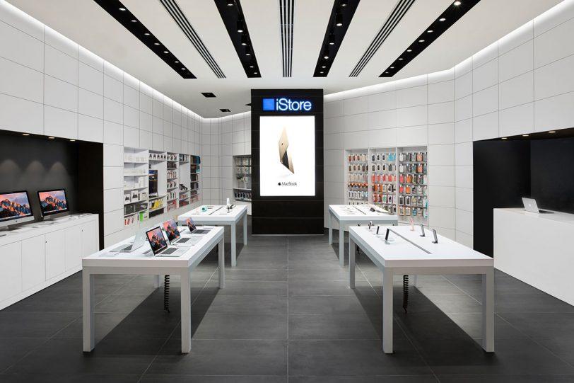 """חנות iStore החדשה בבאר-שבע (תמונה: יח""""צ אייסטור)"""