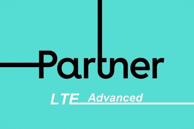 לוגו פרטנר תמיכה ב-LTE Advanced