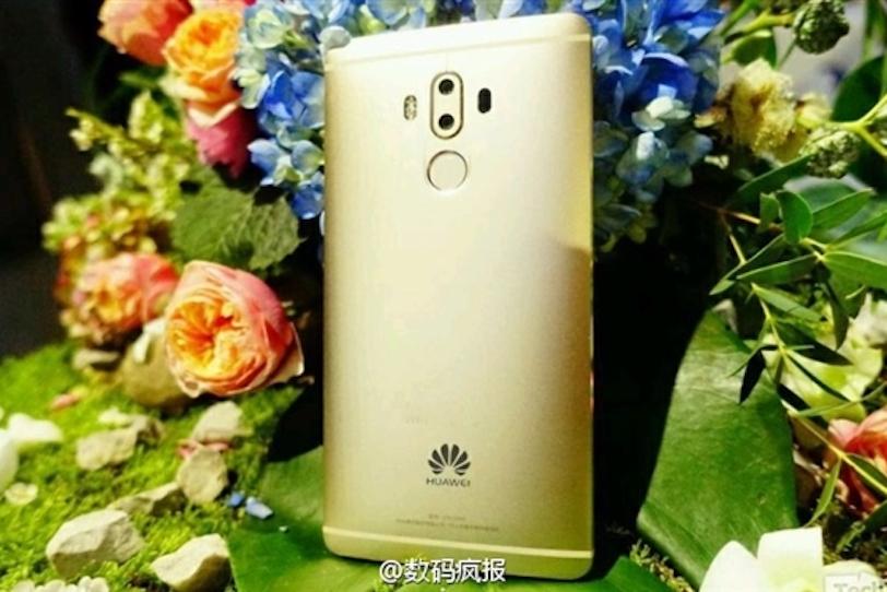 Huawei Mate 9 בתמונה חיה (הדלפה)