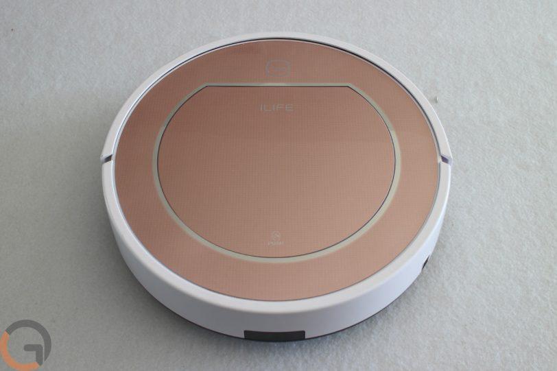 שואב אבק רובוטי ILIFE V7s (צילום: גאדג'טי)