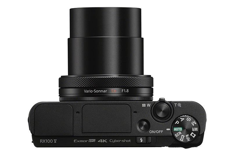 מצלמת RX 100 V (תמונה: Sony)