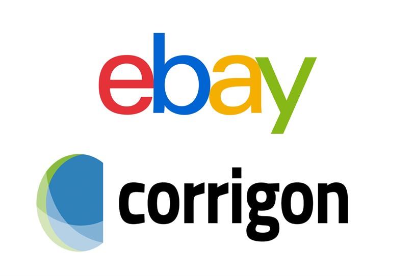 לוגו eBay וקוריגון