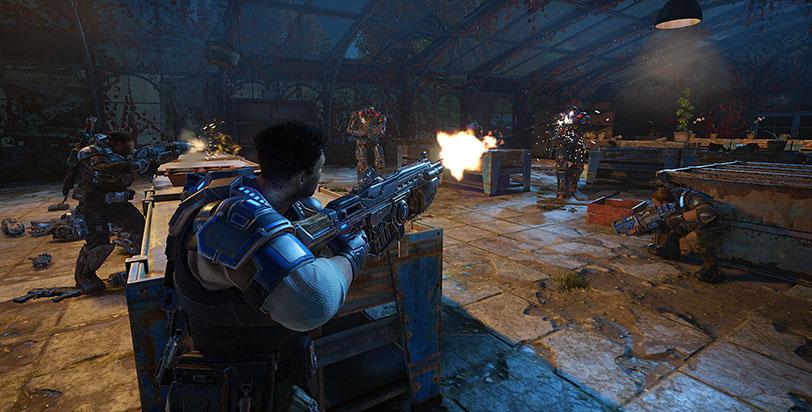 לחימה בצוות - Gears of War 4