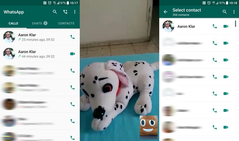 שיחות וידאו ב-Whatsapp (צילום: גאדג'טי)