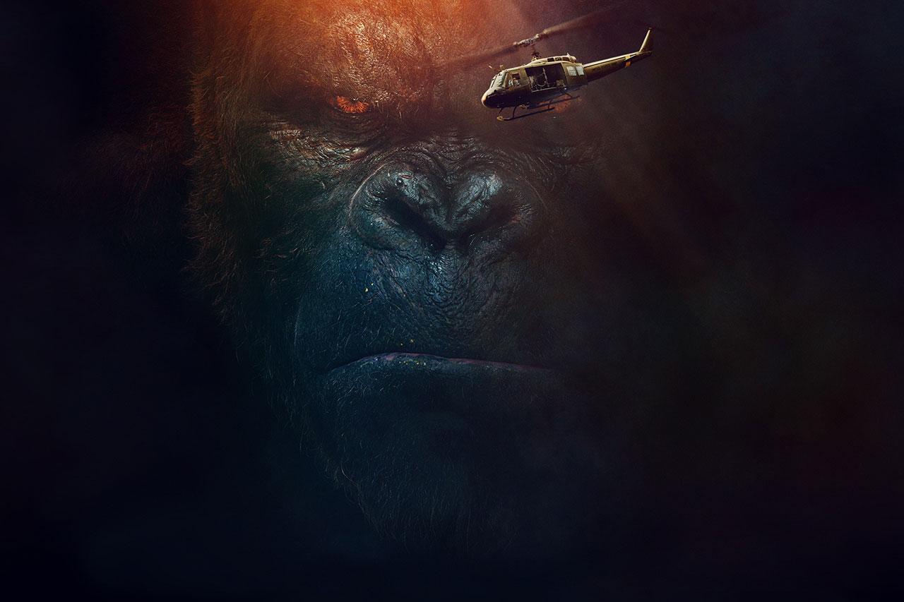 """מתוך """"קונג: אי הגולגולת"""" (תמונה באדיבות Warner Bros)"""