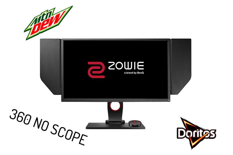 מסך מחשב BenQ Zowie XL2540