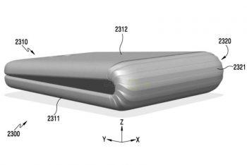 נחשף לראשונה: כך עשוי להיראות הסמארטפון המתקפל Galaxy X מבית סמסונג