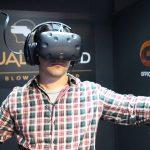 Expérience de réalité virtuelle dans le monde virtuel (Photo: Gadgeti)