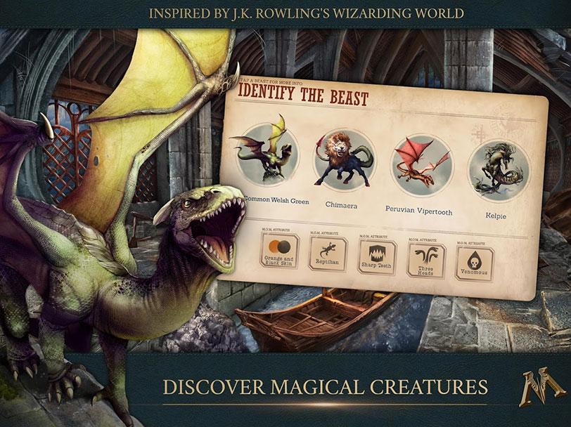משחק המובייל של Fantastic Beasts