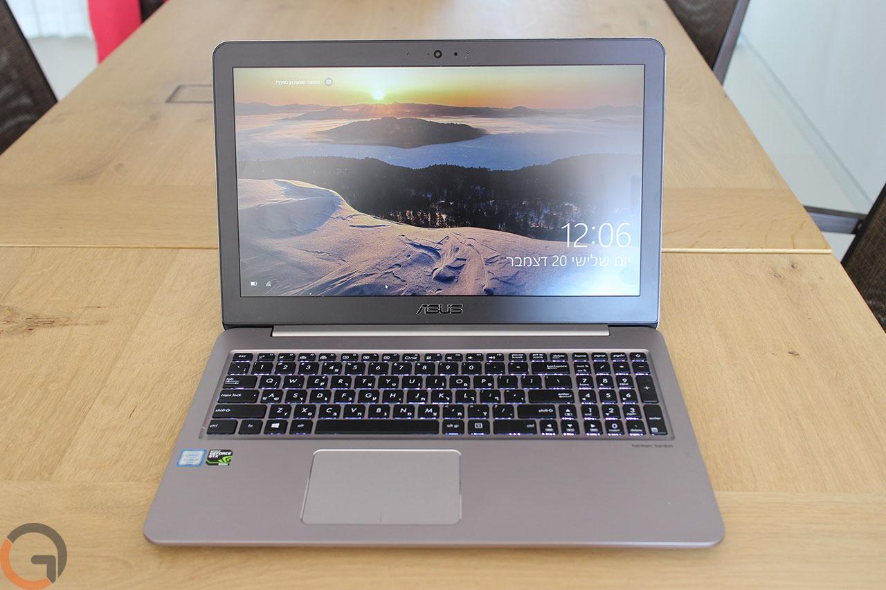 מחשב ASUS Zenbook UX510 (צילום: גאדג'טי)