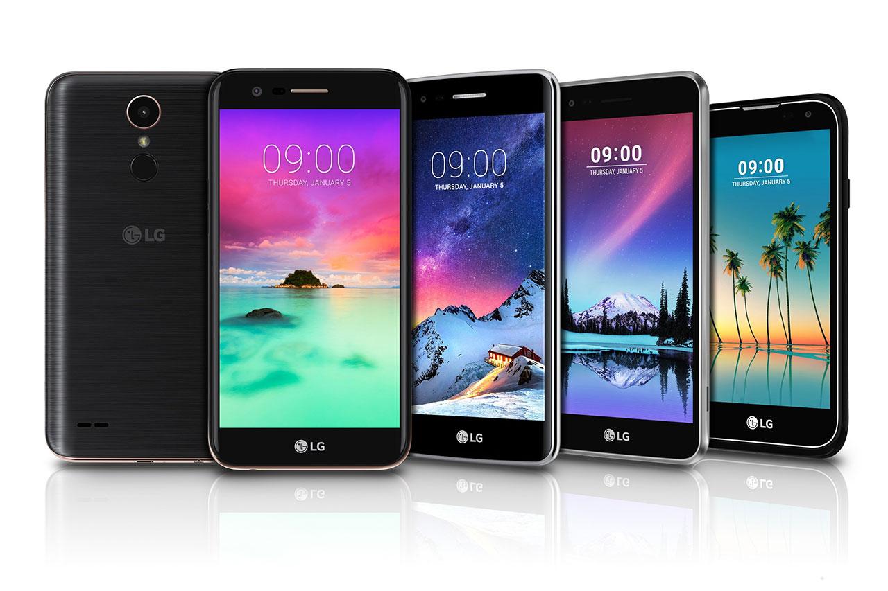 סדרת LG K 2017 (מקור: LG)