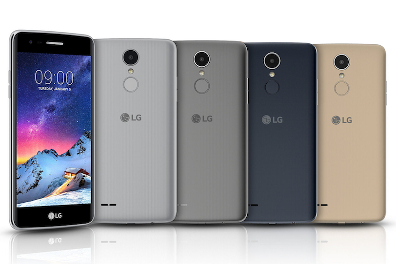 LG K8 2017 (מקור: LG)