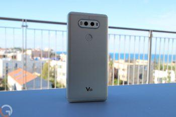 שמועה: LG V30 יגיע עם 4 מצלמות – 2 בחלקו הקדמי ו-2 בחלקו האחורי