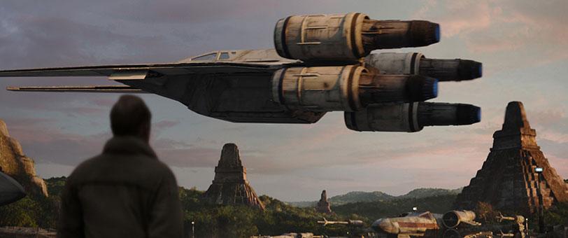 """מתוך """"רוג אחת: סיפור מלחמת הכוכבים"""""""