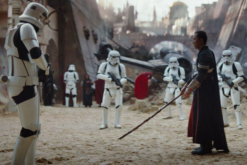 """צ'ירוט אימווה מתוך """"רוג אחת: סיפור מלחמת הכוכבים"""""""