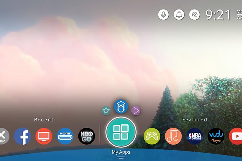 ממשק המשתמש החדש לטלוויזיות של סמסונג כפי שהודלף