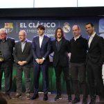 צוות אינטל ושחקני הליגה הספרדית (צילום: גאדג'טי)