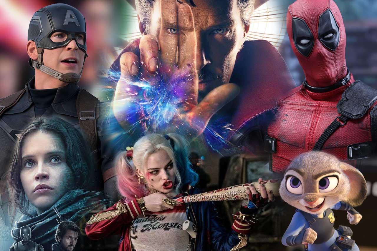 הסרטים הגדולים של 2016
