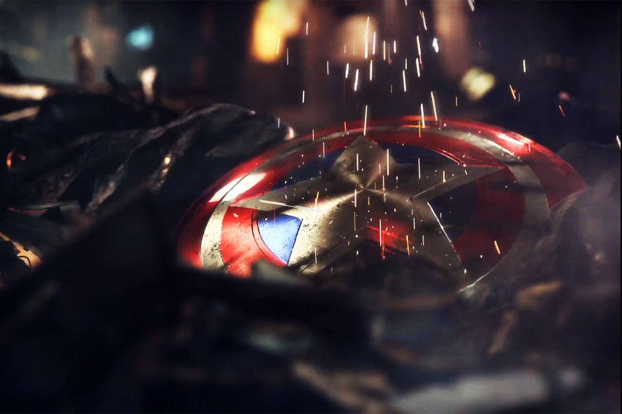 המגן של קפטן אמריקה מתוך טיזר למשחק חדש של הנוקמים