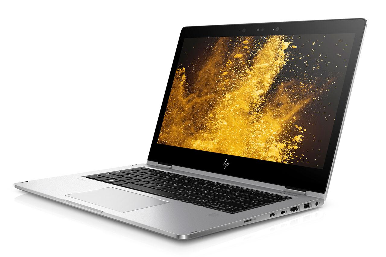 """מחשב HP EliteBook x360 לשנת 2017 (תמונה: יח""""צ HP)"""