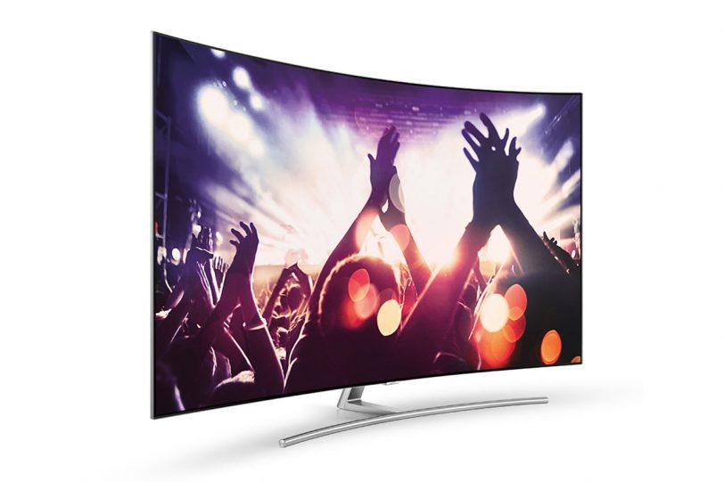 מסך טלוויזיה סמסונג QLED (קרדיט תמונה: Samsung)