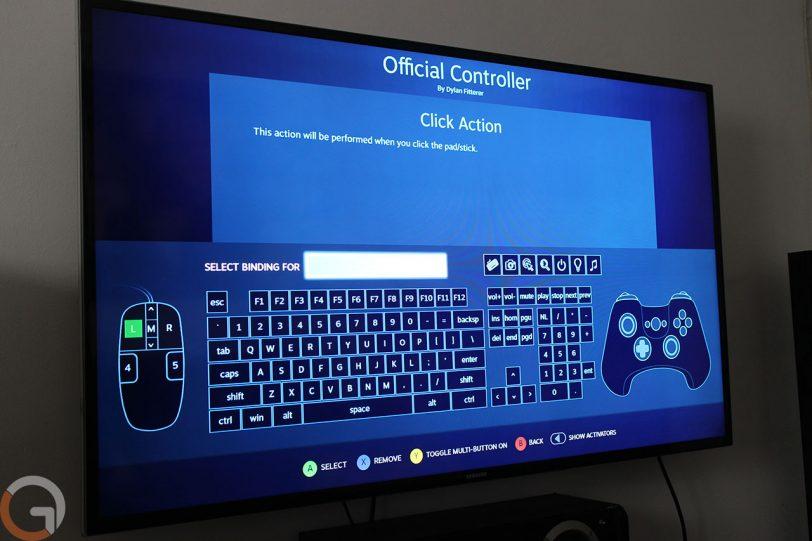 תצוגת מערכת ההפעלה SteamOS ב-Alienware Steam Alpha (צילום: גאדג'טי)