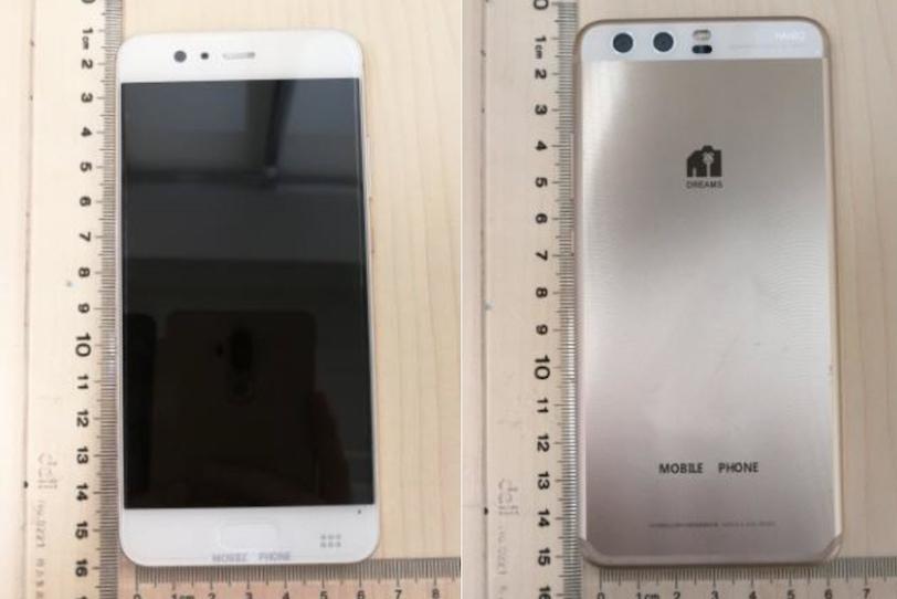 Huawei P10 כפי שנצפה במסמכי ה-FCC