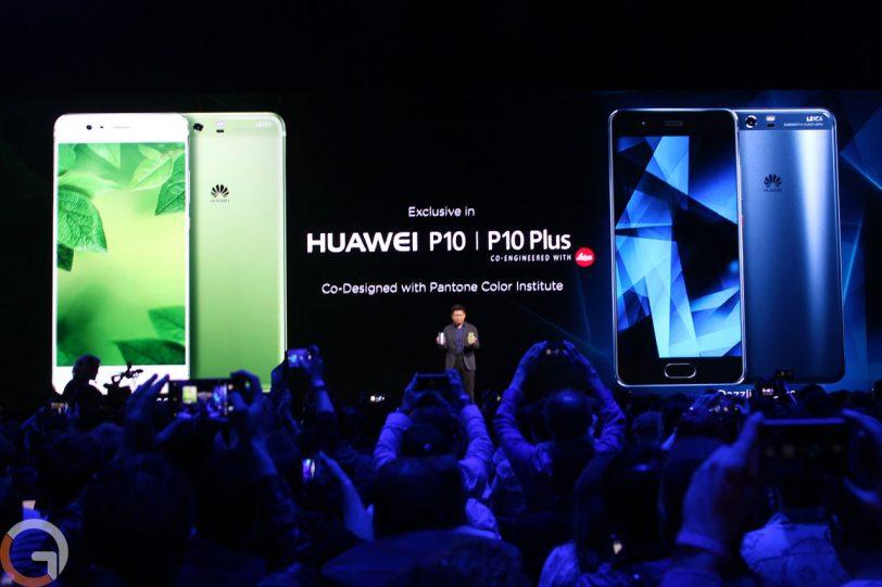 הצבעים הייחודיים של Huawei P10 (צילום: אוהד צדוק, גאדג'טי)
