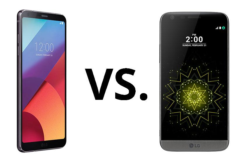 LG G6 מול LG G5