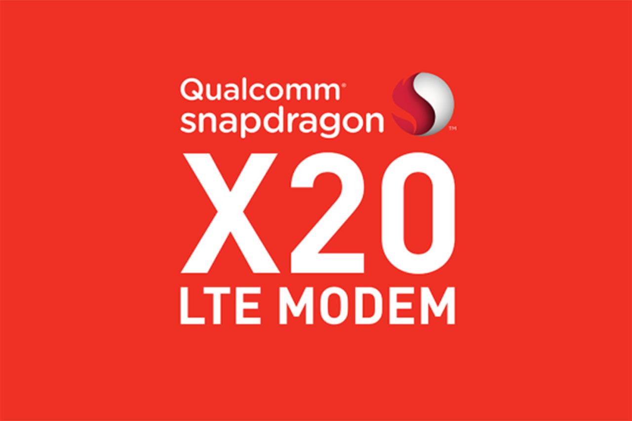 מודם LTE של קוואלקום מדגם X20
