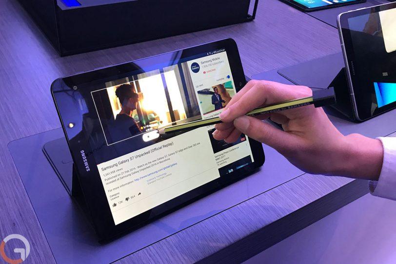 Samsung Galaxy Tab S3 (צילום: רונן מנדזיצקי, גאדג'טי)