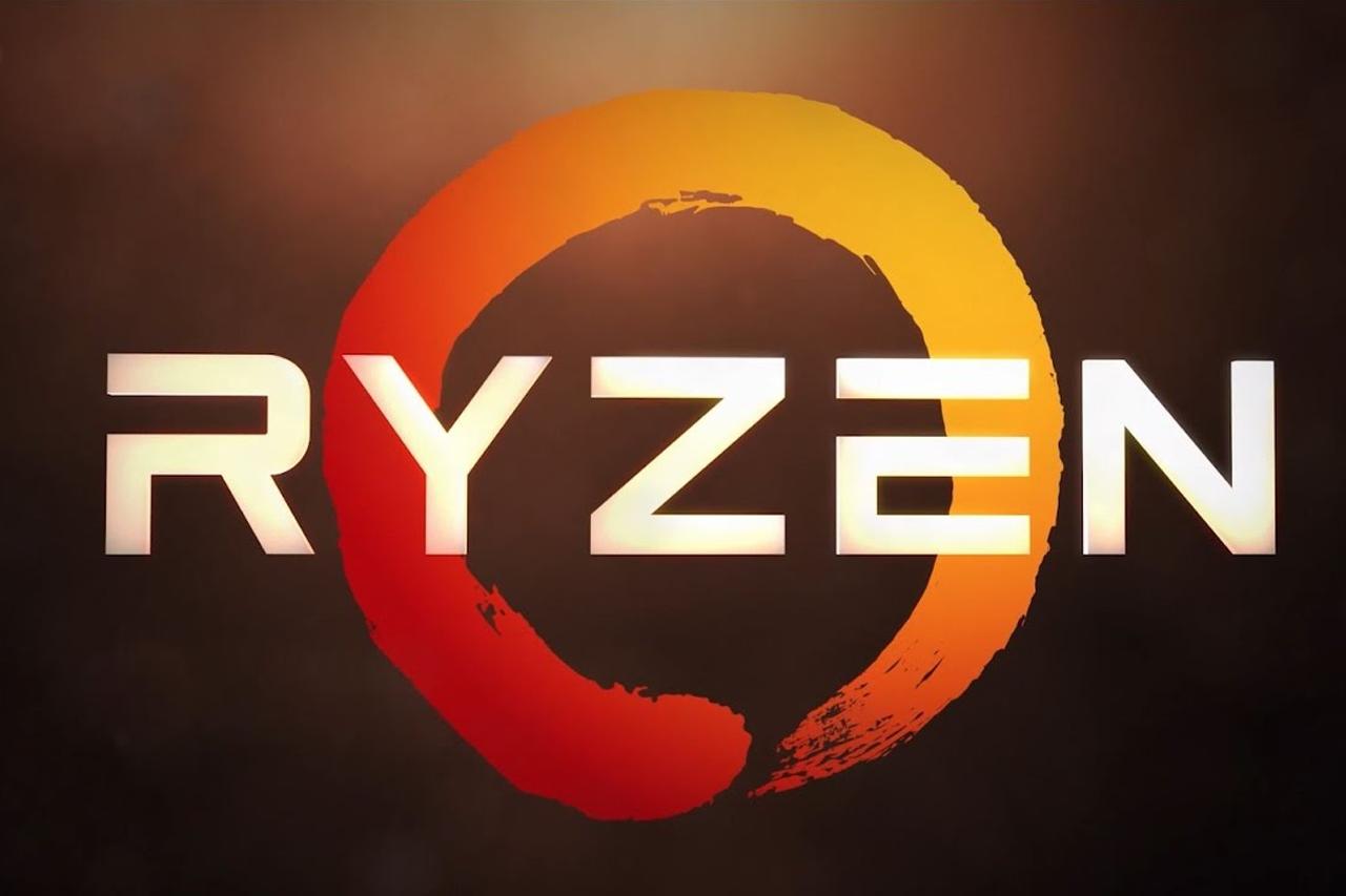לוגו מעבדי Ryzen מבית AMD