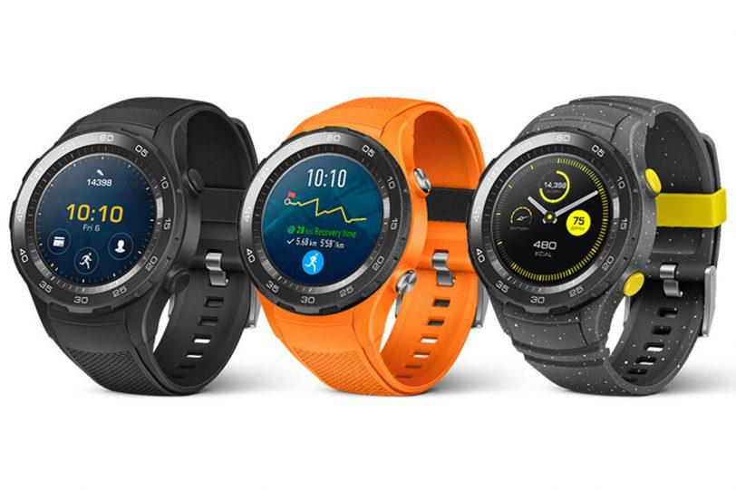שעון Huawei Watch 2 (מקור: הדלפה evleaks)