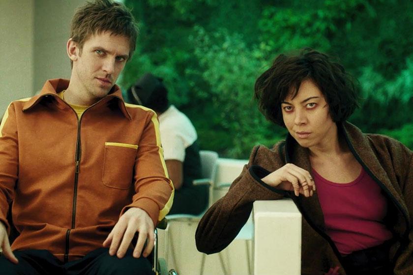 """דן סטיבנס ואוברי פלזה מתוך """"לגיון"""" (תמונה: FX)"""