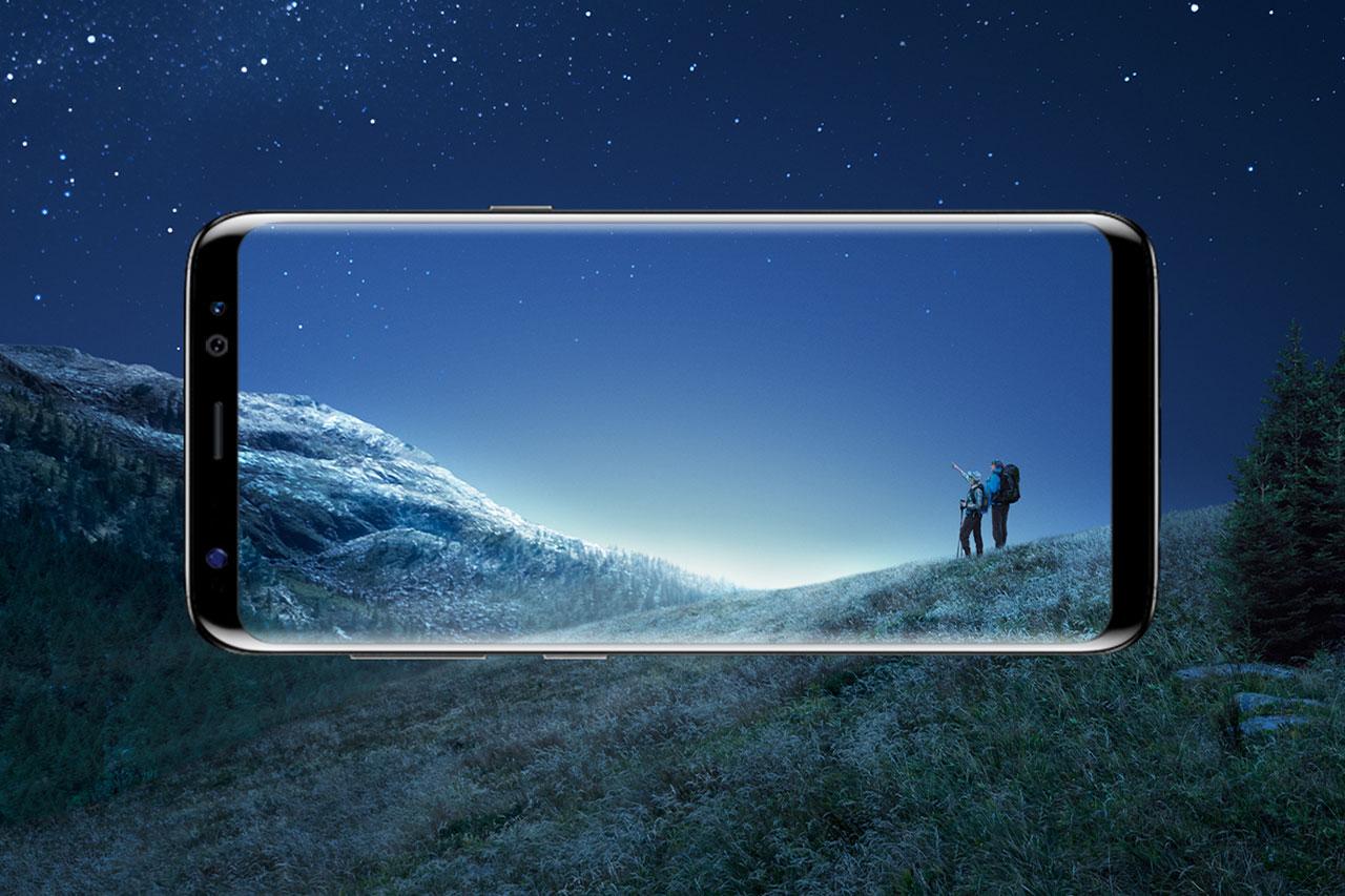 """Samsung Galaxy S8 (תמונה: יח""""צ סמסונג)"""