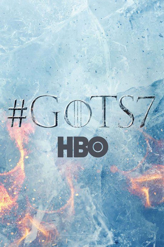 פוסטר משחקי הכס עונה 7 (תמונה באדיבות: HBO)