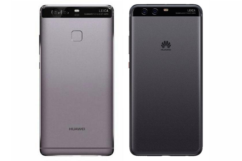 Huawei P9 (משמאול) מול Huawei P10 (תמונות: Huawei)