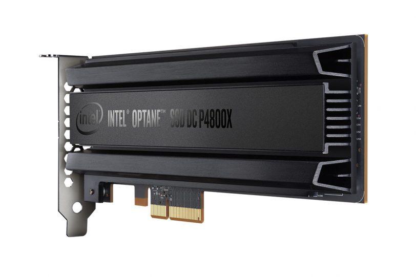 כונן SSD Optane מבית אינטל בטכנולוגיית 3D-XPoint (תמונה: Intel)