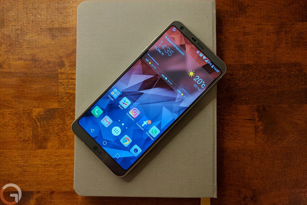 LG G6 (צילום: אוהד צדוק, גאדג'טי)