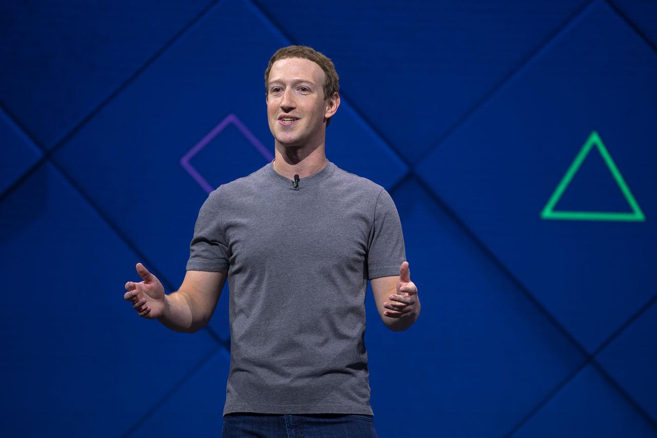 מארק צוקרברג בועידת F8 של פייסבוק (קרדיט תמונה: Facebook)