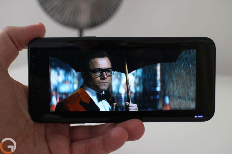 מצב תצוגה רגיל ב-Samsung Galaxy S8 Plus (צילום: רונן מנדזיצקי, גאדג'טי)