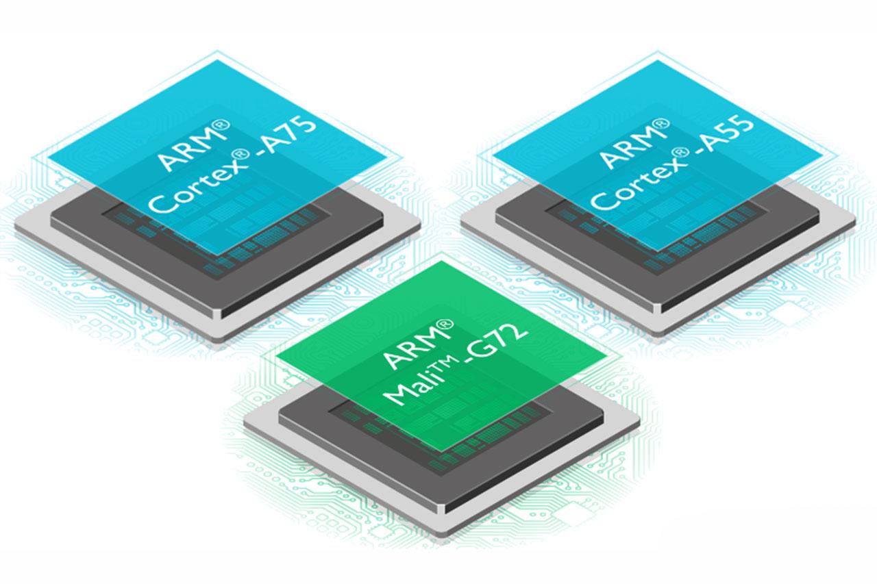 ליבות Cortex-A75, A55 ו-Mali-G72 מבית ARM